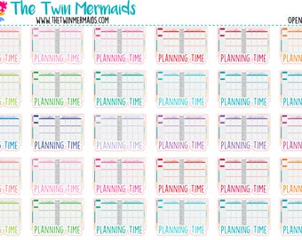 Open Planners Planner Stickers