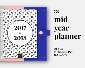 2017 2018 record keeping monthly planner for teachers / 12