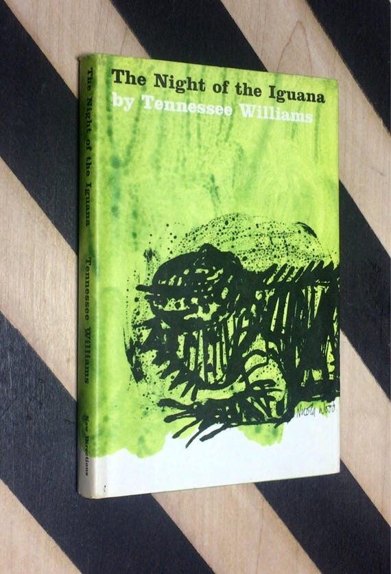 The Night of the Iguana by Tennessee Williams (1961) hardcover book