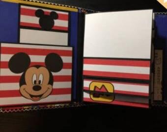 Rosauriostegui: Custom Mickey Album for 100 photos