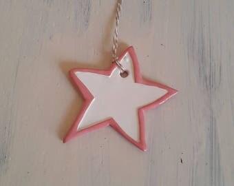 Star red wagon ceramic