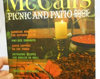 McCall's Picnic and Patio Cookbook Vintage