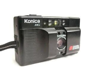 Konica MG Autofocus, Vintage Camera, 35mm Camera, Point And Shoot, 35mm Film Camera, Vintage Konica, Compact Camera