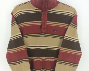 Vintage 90's Crocodile Classic Retro Vintage Design Skate Sweat Shirt Sweater Varsity Jacket Size M #A863