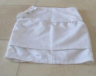 White skirt for girl
