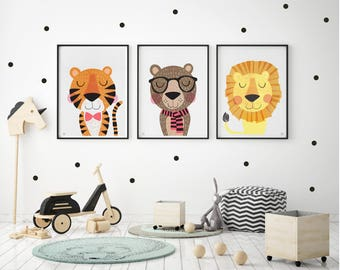 Merveilleux Kids Wall Art | Etsy