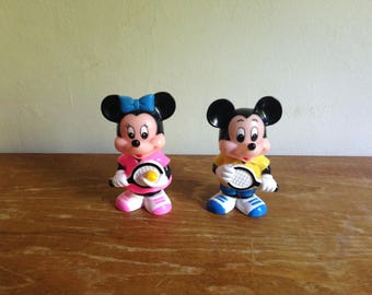 Mickey and Minnie Mouse piggy banks