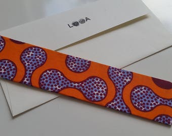 Fabric Bookmark (Bell)