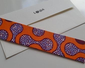 Fabric Bookmark (Bell)