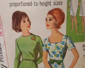 1965 Vintage simplicity size 10