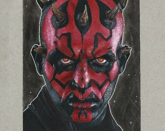 Darth Maul Prints