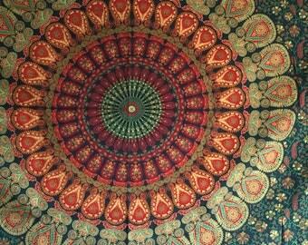 Beautiful Mandala Tapestry