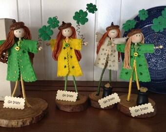 Irish Bendy Doll