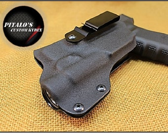 For Glock 19/23/32 W/TLR-1, IWB Kydex Holster Fits A Glock 19/23/32 W/TLR-1 Concealed Carry With Adjustable Steel Clip