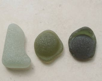 LOO, Sea Glass Supply, Genuine Sea Glass, Sea Glass Kickups, Craft Supply, Sea Glass Art, Mosaic Supply, Collage Supply, Seaglass,