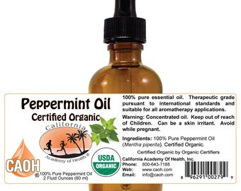 Pure Organic Peppermint Oil