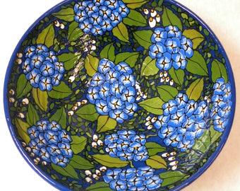 Hydrangea Bowl (Item#37)