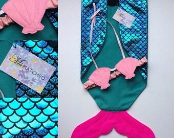 Children's mermaid dressing up costume