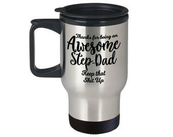 Awesome Step Dad, Step Dad Gift, Step Dad Mug, Gift From Step Son, Gift From Son, From Son, From Daughter, Funny Mug Dad, Gift From daughter