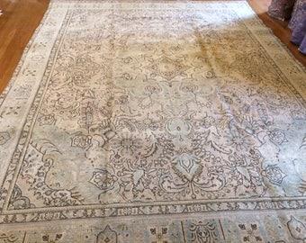 Persian rug vintage 9.7 x 12.10 MINT EXCELLENT condition