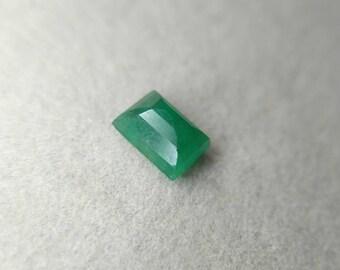 0.60 carat emerald cut beautifully