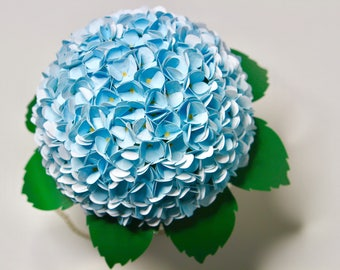 Paper Hydrangea, hydrangeas, paperflower bouquet, hydrangea flower, hydrangea bouquet, fake hydrangea, rustic wedding, paper flowers,