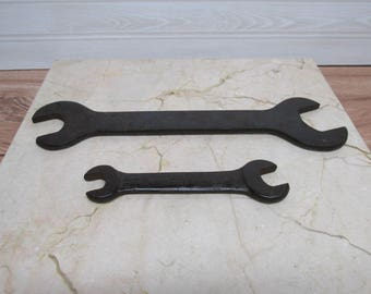 Vintage Combination Wrenches/Antique Wrenches/Mossberg Wrench/Drop Forged Wrench