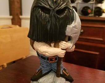 Big head Halloween executioner