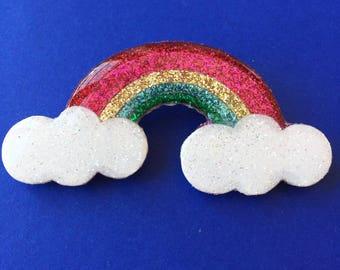 "Brooch ""Rainbow"""