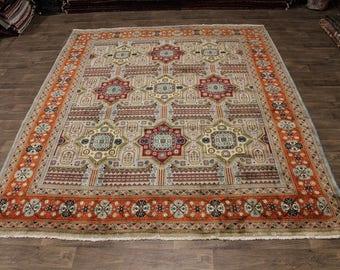 Exquisite Handmade Rare Tabatabaei Tabriz Persian Rug Oriental Area Carpet 10X12