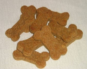LUCKY LIKE Crunchy Peanut Butter Biscuits Premium Dog Treats ORGANIC 8 Ounces Baked Fresh to Order