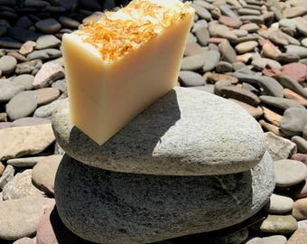 Calendula handcrafted soap