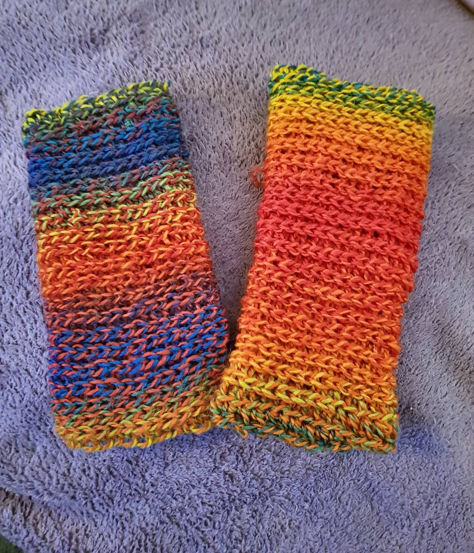 Baby leg warmers 6 to 9 months size, cloth bum wearers, crawling ...