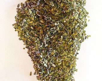 Subtle Energy Organic Loose Tea • yerba mate and lavender • antioxidant rich • green tea • healthy tea