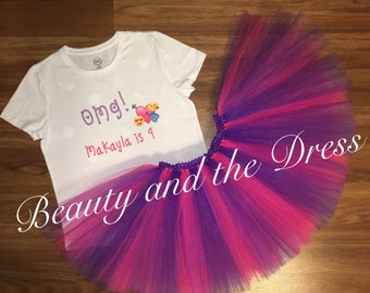 Omg birthday, emoji birthday, emoji inspired birthday, omg tutu set, emoji birthday set, omg shirt, emoji shirt, omg tutu, emoji tutu,