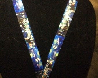 Dr. Who 11 Doctors Lanyard