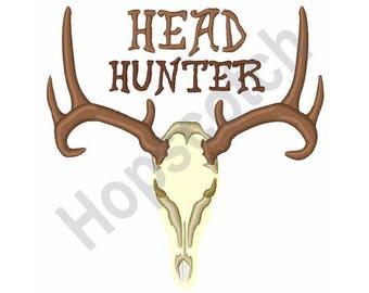 Deer Trophy - Machine Embroidery Design