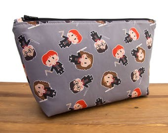 Harry Potter Gifts - Harry Potter Bag - Harry Potter Makeup Bag - Harry Potter Pouch - Hogwarts - Ron Weasley - Hermione #18