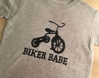 BIKER BABE: tricycle