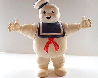 1980s Vintage Ghostbusters Stay Puft Marshmallow Man Toy