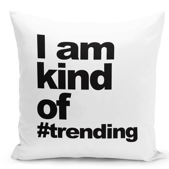 Quote Throw Pillow Case Unique Pillow Cover Living Room