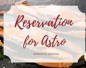 Reserved for Astro - Seafood & other accessories in miniatures