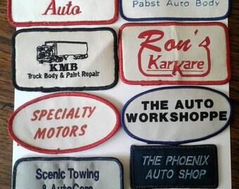 Vintage Automotive Patches