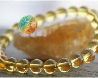 Citrine bracelet,6mm Genuine Citrine Bracelet,Yellow Golden Bracelet,Yoga,Gemstone Bracelet,Beaded Bracelet,Womens,PROSPERITY,SUCCESS,LUCKY