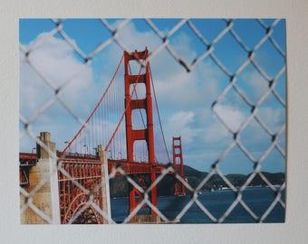 Golden Gate Bridge Print - San Francisco Wonder - Golden Gate Bridge