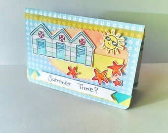 Birthday Card - Summer Party