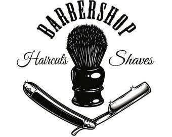 Barber shop svg etsy for Action clips grooming salon