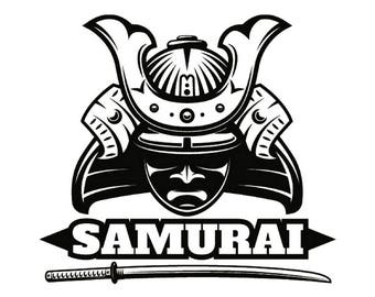 Samurai Svg Etsy