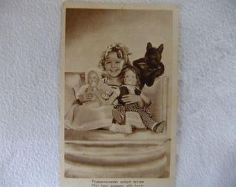 Shirley Temple Postcard