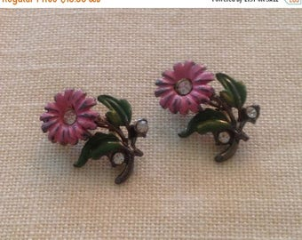Anniversary Sale Gorgeous Vintage Flower Dress Pins